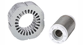Stator Rotor Lamination for Two Poles Motor