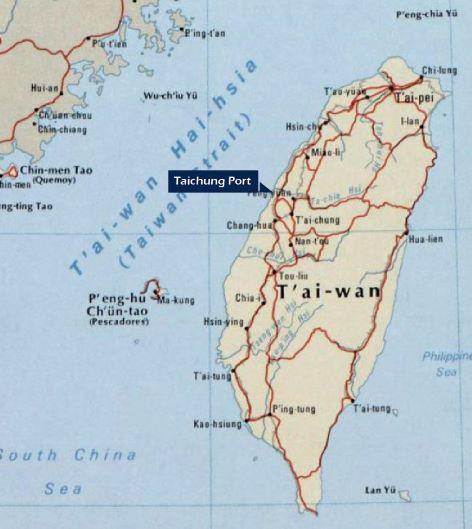 Öncelik olarak Taichung limanını seçmenizi öneririz.