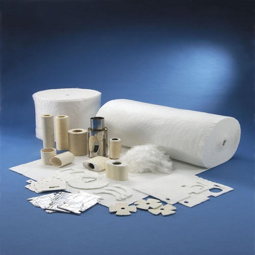 High Temp Fiberglass Needled Mat Pipe Insulation