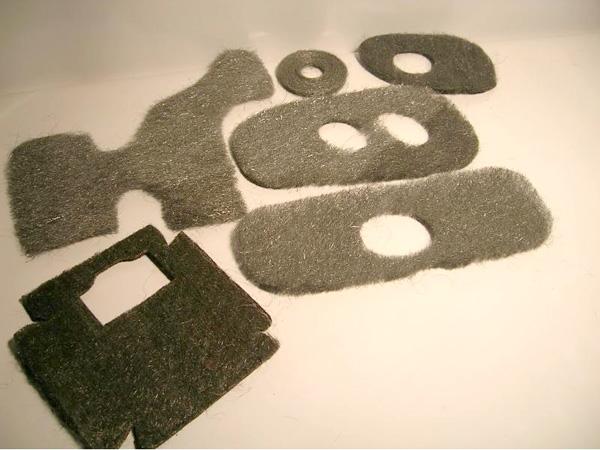 ステンレスシルクコットンとその製品 - カスタマイズされた形状
