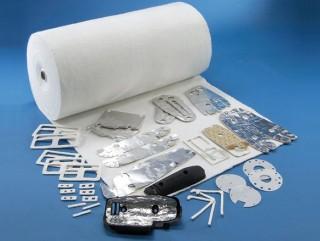 高温針綿とその製品