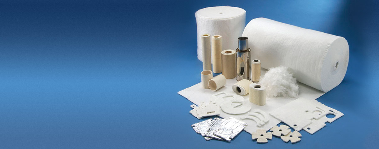 Needle mat for thermal insulation of automotive & industry