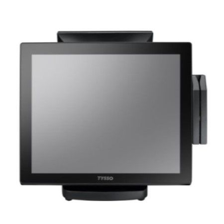 17 inches Full Flat Touch Screen POS-System