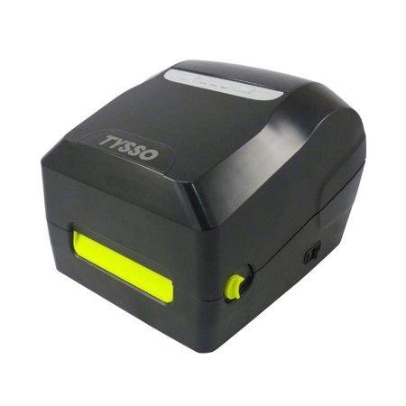 Impressora de etiquetas de código de barras 1D e 2D de transferência térmica / térmica direta 1D e 2D - Impressora de etiqueta de código de barras 1D e 2D, transferência térmica e térmica direta de 4 polegadas - BLP-410