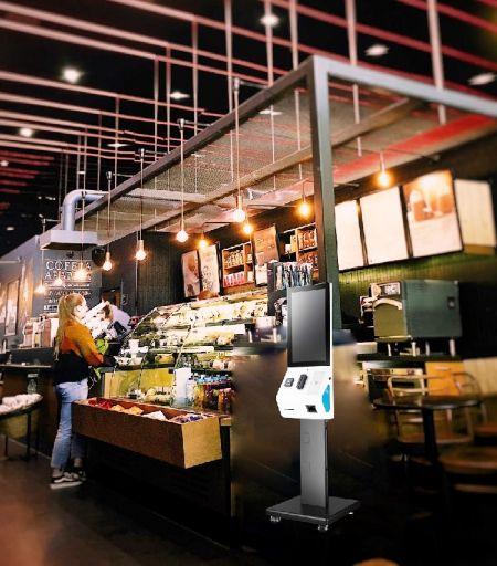 Περίπτερο αυτοεξυπηρέτησης ως λύση για διάφορες μορφές εστιατορίου.