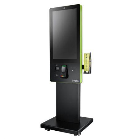 32-дюймовый цифровой киоск самостоятельного заказа с процессором Intel® Bay Trail J1900 - 32-дюймовый цифровой киоск с сенсорным экраном и процессором Intel® Bay Trail J1900