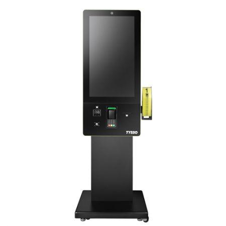 Ψηφιακό περίπτερο αυτοπαραγγελίας 32 ιντσών με επεξεργαστή Intel® Kaby Lake - Περίπτερο ψηφιακής οθόνης αφής 32 ιντσών με επεξεργαστή Intel® Kaby Lake