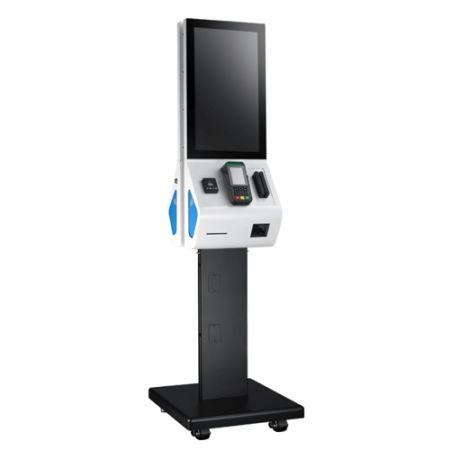 Quiosque digital de auto-encomenda de 21,5 polegadas com processador ARM