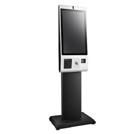 Quiosque digital de auto-encomenda de 27 polegadas com processador Intel® Bay Trail J1900