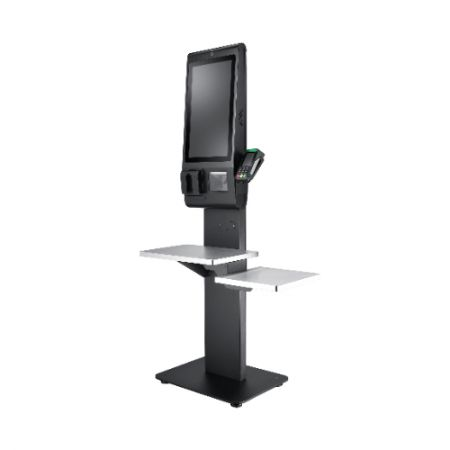 Quiosque de autoatendimento digital de 21,5 polegadas - Quiosque de autoatendimento digital de 21,5 polegadas