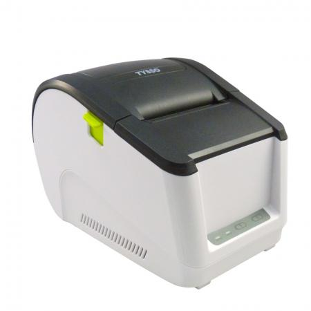 Side view of Label Printer BLP-300