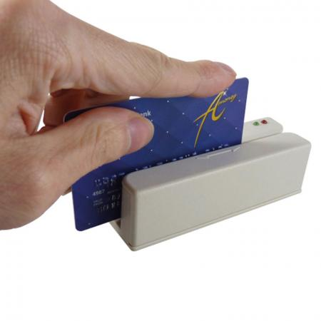 Magstripe Card Reader MSRD with Card