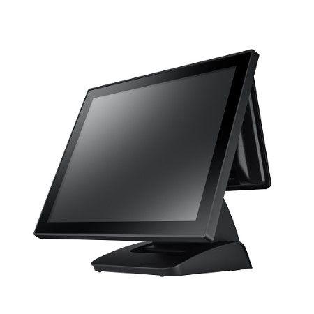 محطة نقاط البيع ذات شاشة لمس مسطحة كاملة بدون مروحة - نظام POS-1000B-POS مسطح بالكامل بدون مروحة مقاس 15 بوصة