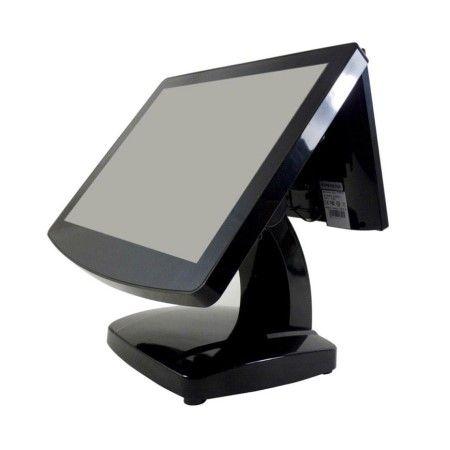 15 بوصة بدون مروحة كامل شاشة لمس مسطحة POS الطرفية - محطة نقاط البيع ذات شاشة لمس مسطحة كاملة بدون مروحة