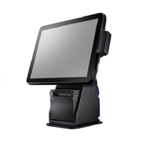 Sleek and Stylish Fanless POS System with Printer - POS System Integrated with Optional Receipt Printer