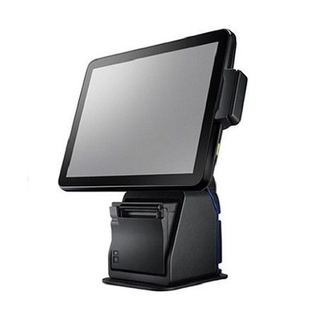 Fanless Skylake High Performance POS with Printer - POS System Integrated with Receipt Printer