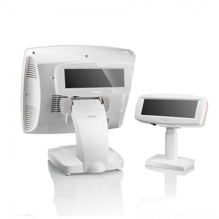 Back side of POS System POS-3000