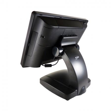 Black back side of POS System POS-6000