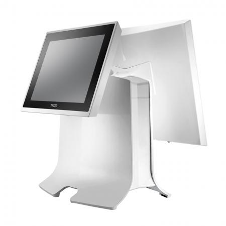 15 inch POS System TP-8515 with 2<sup>nd</sup> LCD Monitor