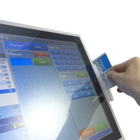 Touch screen con MSR del sistema POS TP-8515
