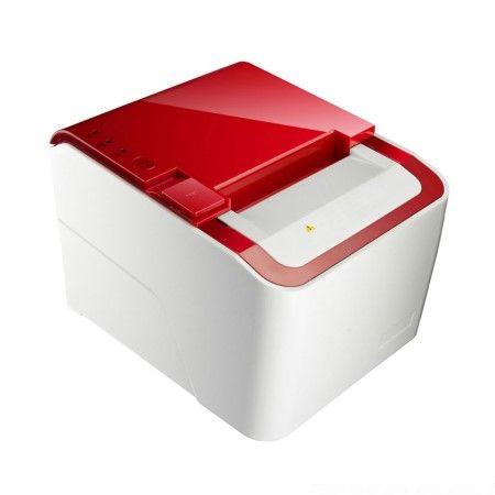 طابعة الإيصالات الحرارية متعددة الإدخال / الإخراج ، سرعة الطباعة 250 مم / ثانية - PRP-250 مظهر لامع مع تصميم جسم متعرج أملس