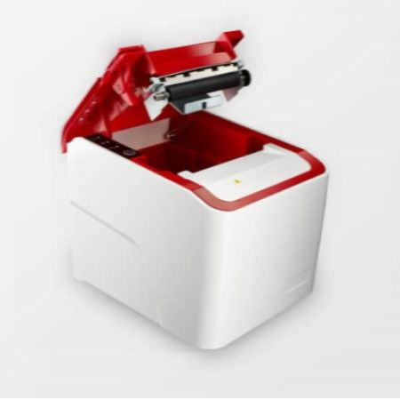 Red Front Cover of Receipt Printer PRP-250