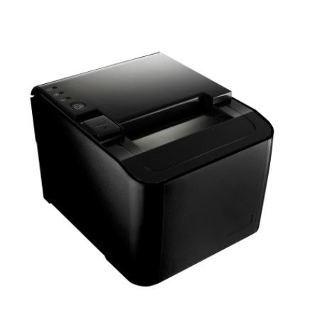 Black Front View of Receipt Printer PRP-250