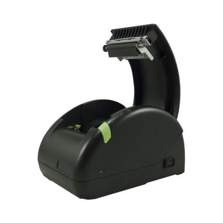Side view of front cover opened Receipt Printer PRP-058K