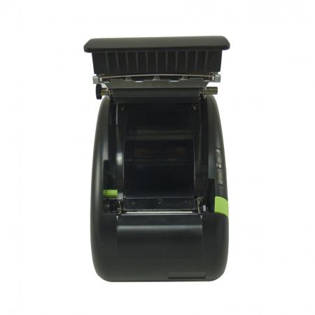 Front view of opened Receipt Printer PRP-058K