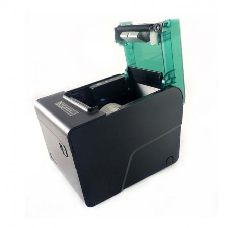 Front cover opened of Receipt Printer PRP-188