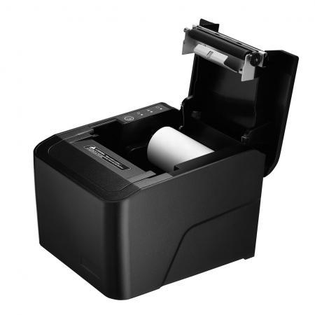 Receipt Printer PRP-250C provides 80mm large paper roll slot