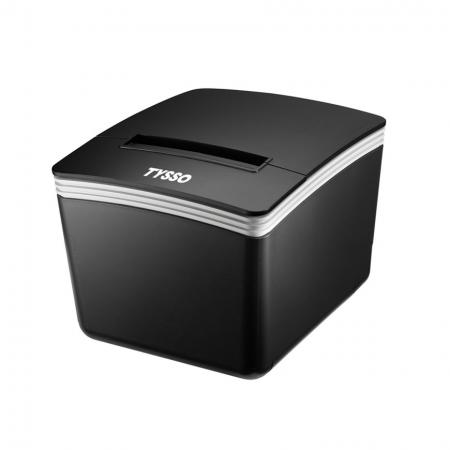 Black Receipt Printer PRP-300 with TYSSO logo