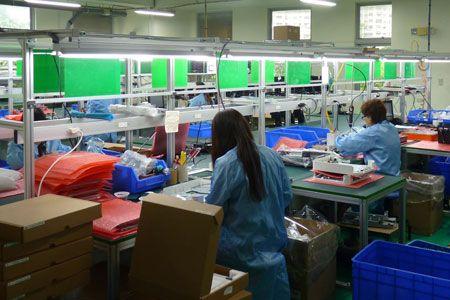 Production line of Fametech (TYSSO)