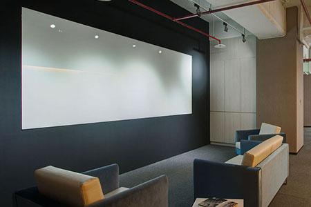 Office open area of Fametech (TYSSO)