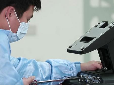 POS-produktet er i monteringsprosess på fabrikken til Fametech (TYSSO).