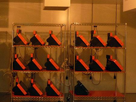 POP-950 TYSSO в комнате для сжигания и подготовка к испытанию