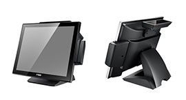 POS-1000-B Fanless Full Flat Touch Screen POS Terminal