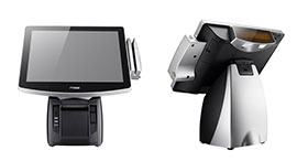 Sistema POS All-in-One modulare senza ventole POP-650