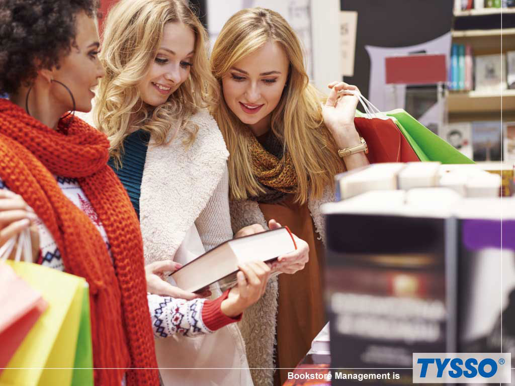 TYSSO is your reliable POS hardware solution provider for Bookstore and Stationary.
