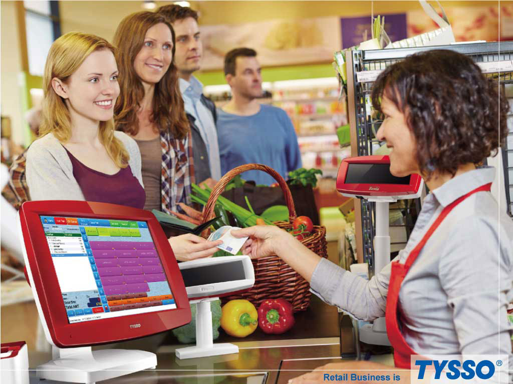 TYSSO provides swift and reliable POS hardware solution for Retail and Wholesale.