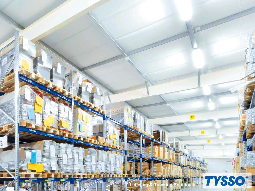 TYSSO fournit une solution de gestion des stocks d'étiquetage et de suivi