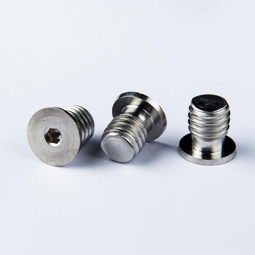 Kundenspezifische Metallschraube mit Gewinde - Kundenspezifische Metallgewindekappe 18-8SS Passiviert