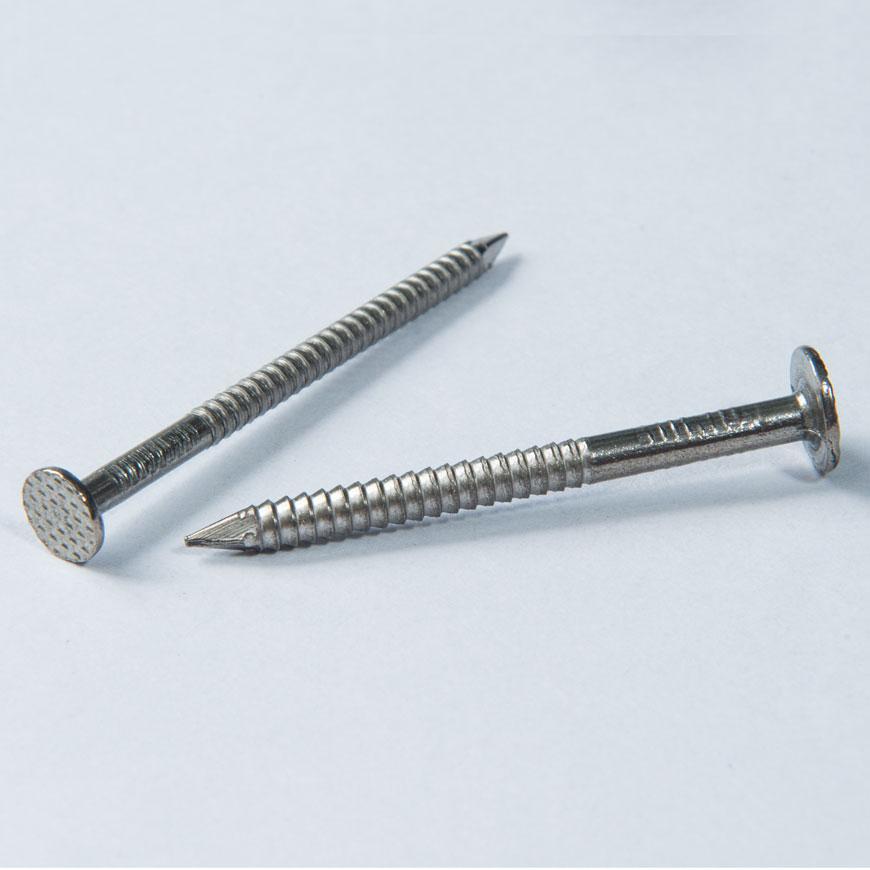 Flat Head Nail Screw - Flat Head Pointed Nail