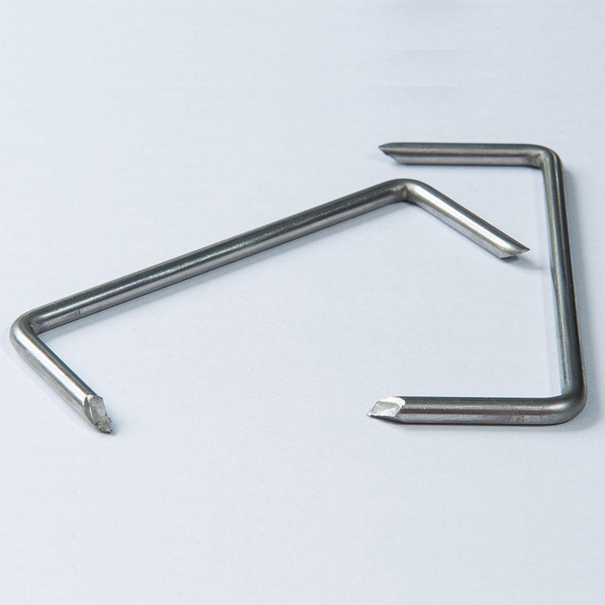 التيلة الفولاذ المقاوم للصدأ - التيلة الفولاذ المقاوم للصدأ ، M- الشكل
