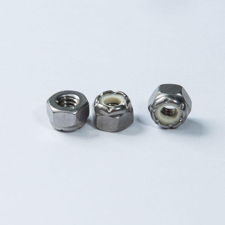 Nut - Hex Lock Nylon Nut