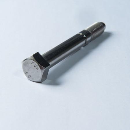 Brugerdefineret Penta hovedbolt - Penta Head Bolt, Grip Gaging Body under Head w/ Skived Chamfer. Delvist gevind
