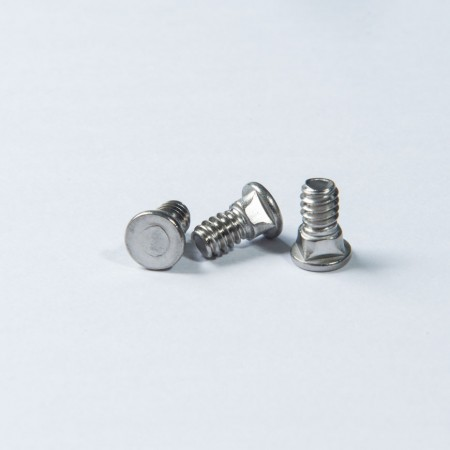 Flat Head Carriage Screw w/ Machine Thread