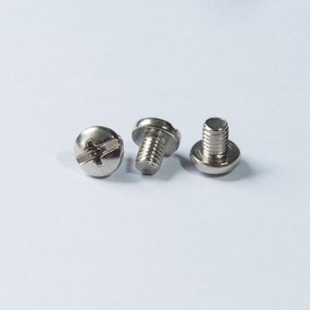 Pan Head Phillips Slot - Pan Head Phillips Slot w/ Machine Thread