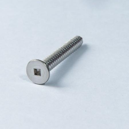 Flat Head #2 Square - Flat Head #2 Square Screw w/ Tapping Thread Type AB
