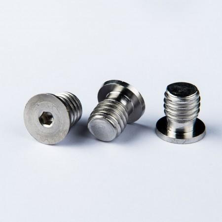 Custom Metal Threaded Cap Screw - Custom Metal Threaded Cap 18-8SS Passivated